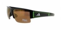 Adidas A376 6060 SHINY BLACK/GREEN