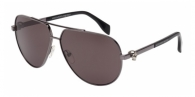 Alexander Mcqueen AM0018S 001 BLACK RUTHENIUM / GREY