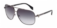 Alexander Mcqueen AM0019S 004 BLACK RUTHENIUM / GREY