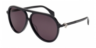 Alexander Mcqueen AM0020S 001 BLACK / GREY