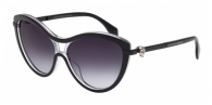Alexander Mcqueen AM0021S 002 BLACK / CRYSTEL / GREY