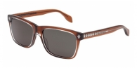 Alexander Mcqueen AM0025S 004 BROWN / GREY GREEN