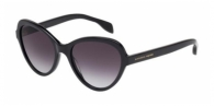 Alexander Mcqueen AM0029S 001 BLACK / SMOKE