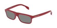 Alexander Mcqueen AM0030S 003 RED / GREY MIRROR