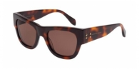 Alexander Mcqueen AM0033S 002 HAVANA / BROWN