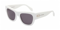 Alexander Mcqueen AM0033S 004 WHITE / DARK GREY
