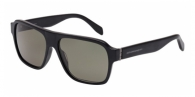 Alexander Mcqueen AM0036S 001 BLACK / GREY GREEN