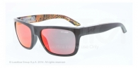 Arnette AN4176 22306Q BLACK  red multilayer