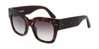 Bottega Veneta BV0007S 003 DARK HAVANA / GREY GRADIENT