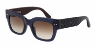 Bottega Veneta BV0007S 004 BLUE / BROWN GRADIENT