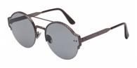 Bottega Veneta BV0013S 004 RUTHENIUM / GREY