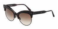 Bottega Veneta BV0014S 002 BLACK HAVANA / BROWN GRADIENT