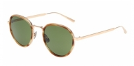 Bottega Veneta BV0018S 001 LIGHT HAVANA / GREEN