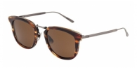 Bottega Veneta BV0019S 002 STRIPPED BROWN / BROWN