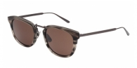 Bottega Veneta BV0019S 004 STRIPPED GREY / BROWN