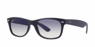 Ray-ban RB2132 601S78 MATTE BLACK POLAR BLUE GRAD. GRAY