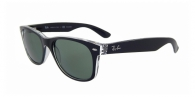 Ray-ban RB2132 605258 TOP BLACK ON TRASPARENT