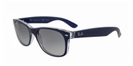 Ray-ban RB2132 6053M3 TOP BLUE ON TRASPARENT