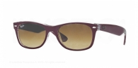 Ray-ban RB2132 605485 TOP MATTE BORDEAUX ON TRANSPARENT