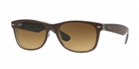 Ray-ban RB2132 618985 TOP MT CHOCOLATE ON BLUE