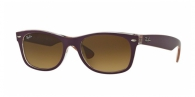 Ray-ban RB2132 619285 TOP MATTE VIOLET ON ORANGE