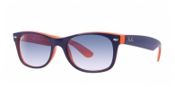 Ray-ban RB2132 789/3F TOP BLUE-ORANGE/CRYSTAL WHITE GRAD. BLUE