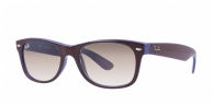 Ray-ban RB2132 874/51 TOP BROWN ON BLUE CRYSTAL BROWN GRADIENT