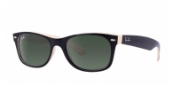 Ray-ban RB2132 875 TOP BLACK ON BEIGE CRYSTAL GREEN