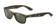 Ray-ban RB2132 902/58 TORTOISE CRYSTAL GREEN POLARIZED