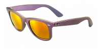Ray-ban RB2140COSMO 6111/69 METALLIC OIL BROWN MIRROR ORANGE - MARS