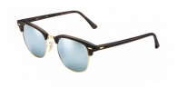 Ray-ban RB3016 114530 SAND HAVANA LIGHT GREEN MIRROR SILVER