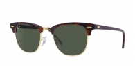 Ray-ban RB3016 W0366 MOCK TORTOISE-ARISTA/CRYSTAL GREEN