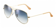 Ray-ban RB3025 001/3F ARISTA/CRYSTAL WHITE GRAD. BLUE