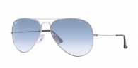Ray-ban RB3025 003/3F SILVER CRYSTAL GRADIENT LIGHT BLUE