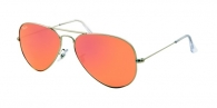 Ray-ban RB3025 019/Z2 MATTE SILVER BROWN MIRROR PINK