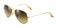Ray-ban RB3025 112/85 MATTE GOLD BROWN GRADIENT