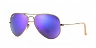 Ray-ban RB3025 167/1M BRUSCHED BRONZE VIOLET MIRROR