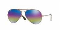 Ray-ban RB3025 9019C2 METALLIC DARK BRONZE