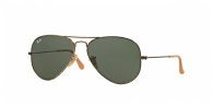 Ray-ban RB3025AGED 177 ANTIQUE GOLD GREEN