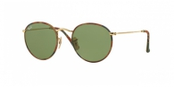 Ray-ban RB3447JM ROUND METAL CAMOUFLAGE 168/4E