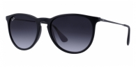 Ray-ban RB4171 622/8G RUBBERIZED BLACK GRAY GRADIENT
