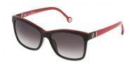 Carolina Herrera SHE598 09H7 RED / GREY GRADIENT