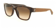 Carolina Herrera SHE645 09XK DARK BROWN / BROWN GRADIENT