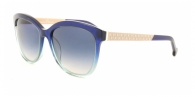 Carolina Herrera SHE647 0N91 BEIGE / DARK BLUE / BLUE GRADIENT