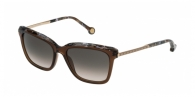 Carolina Herrera SHE689 09GW GOLD / BEIGE / BROWN GRADIENT