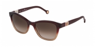 Carolina Herrera SHE698 0AH7 GARNET / BROWN GRADIENT