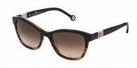 Carolina Herrera SHE698 0GEQ DARK BROWN / BROWN GRADIENT